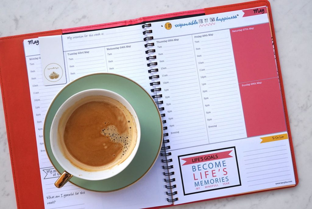 Keopha: Internal view of Mindfulness Planner
